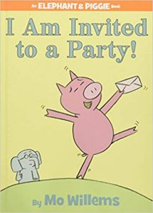 Book Cover: I Am Invited To A Party!