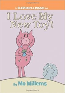 Book Cover: I love my new toy
