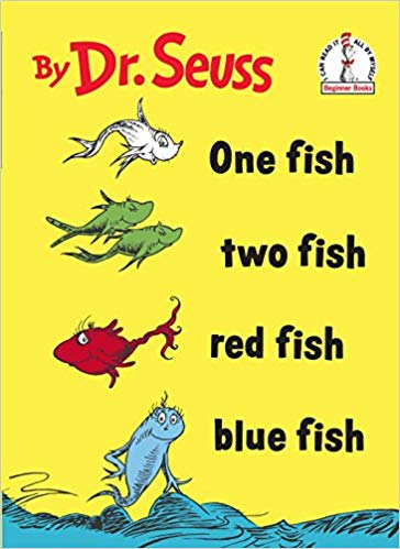 Book Cover: One Fish Two Fish Red Fish Blue Fish