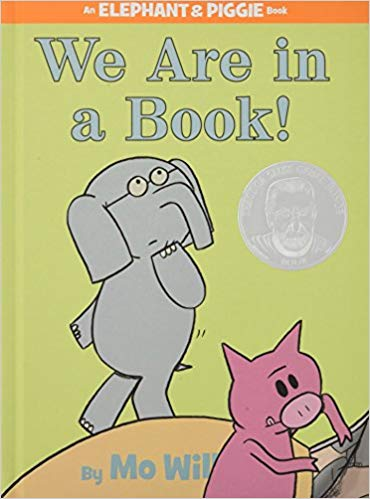 Book Cover: We Are in a Book!