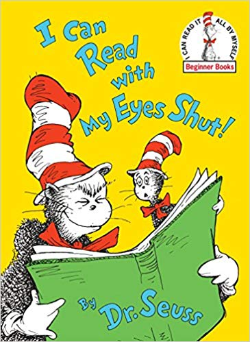 Book Cover: I Can Read with My Eyes Shut!
