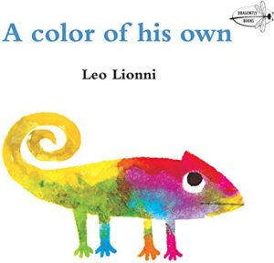 Book Cover: A Color Of His Own