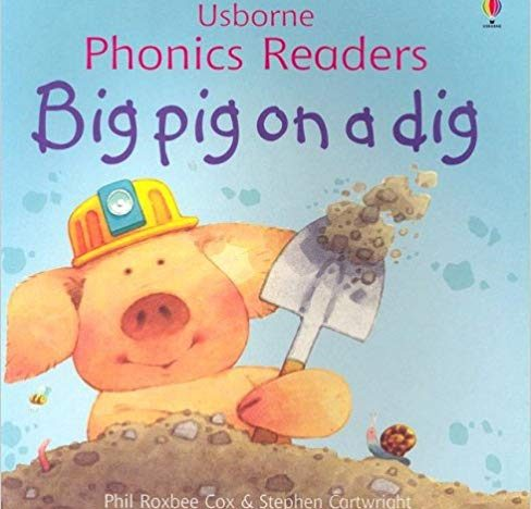 Big pig on a dig course image