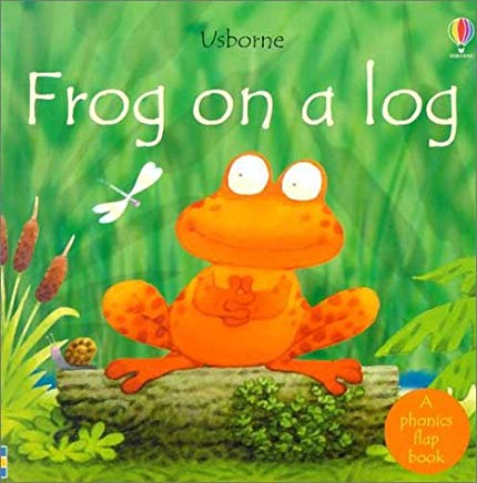 frog on a log course image