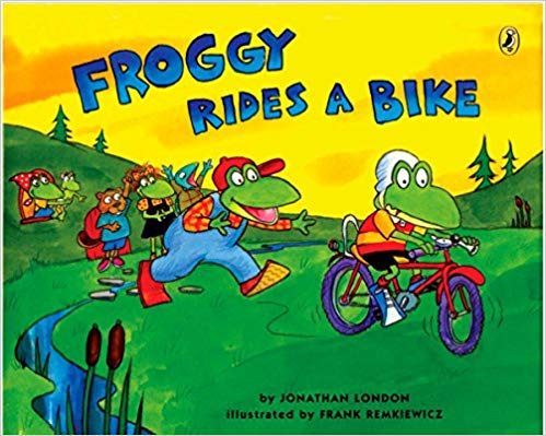 Froggy Rides A Bike course image
