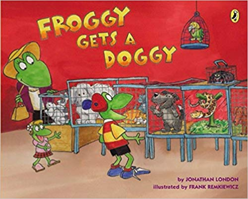 Froggy Gets A Doggy course image
